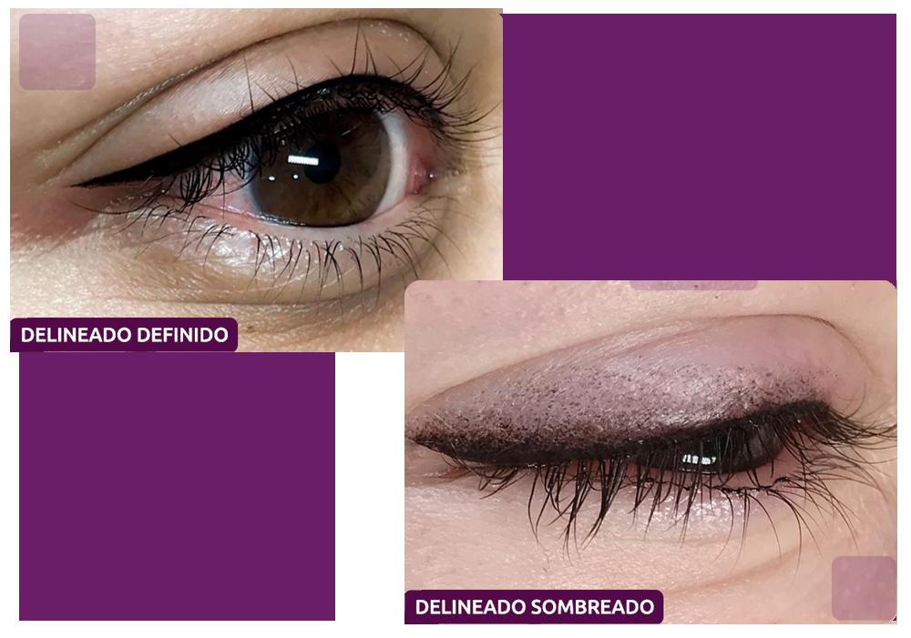 Delineado Definido / Sombreado